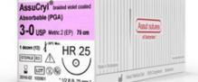ASSUCRYL – ABSORBABLE l Lactin 3/0 24mm 100% PGA 3/8 CRC