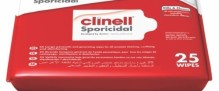 Clinell Sporicidal Wipes (please note this product will incur a freight charge)
