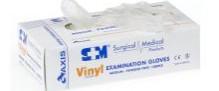 Glove Vinyl S&M Powder Free Clear Small