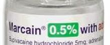Marcain 0.5% 10ml