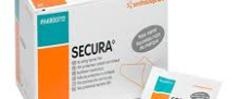 Secura No Sting Skin Prep Wipe 1ml